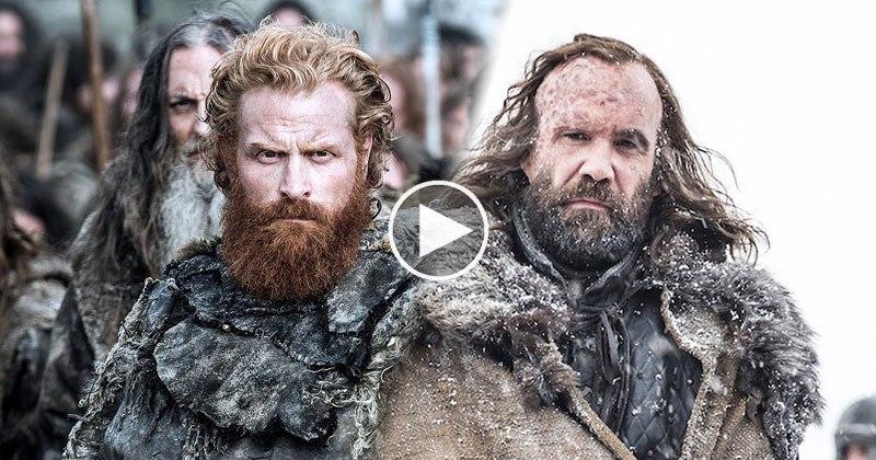 Tormund and the Hound