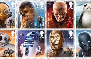 Collectible Star Wars Stamps