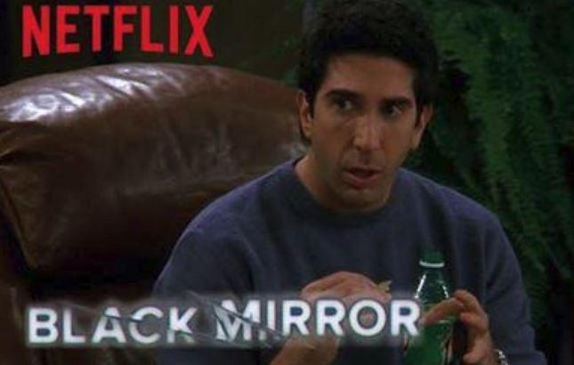 'Friends' Called That 'Black Mirror'