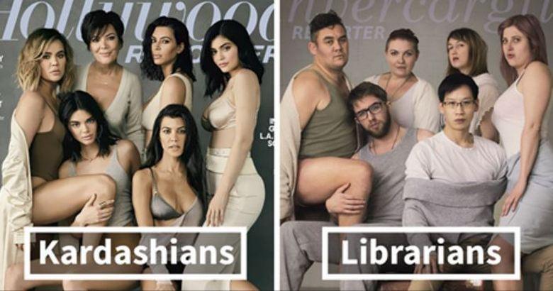 Kardashian-Inspired Photoshoot