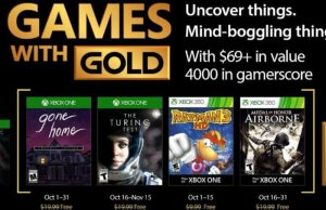 Xbox Gold Games October 2017