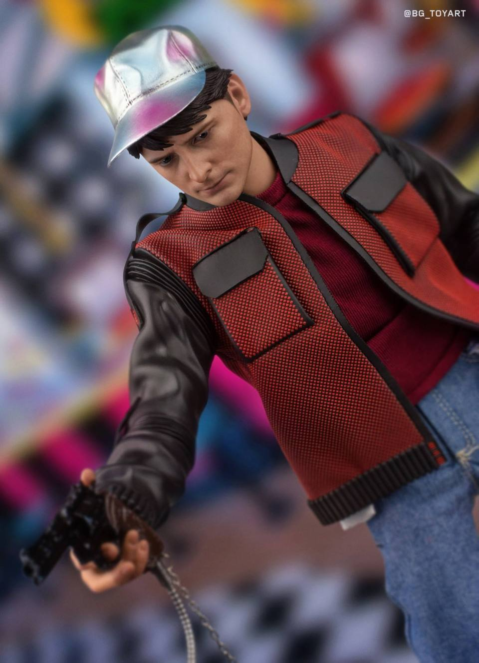 Marty McFly BACK THE THE FUTURE PART II Action Figure