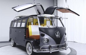 BACK TO THE FUTURE-Themed 1967 Volkswagen Type 2 Van