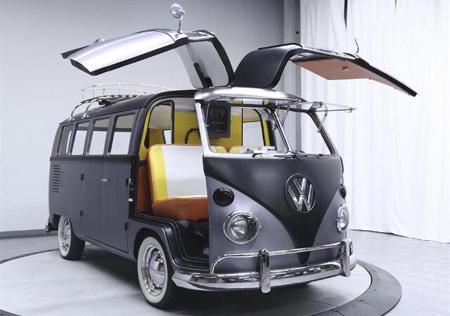 BACK TO THE FUTURE-Themed 1967 Volkswagen Type 2 Van