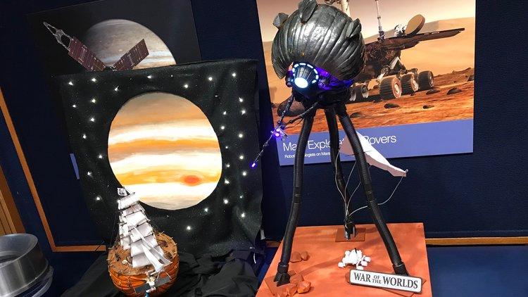 Pumpkin Carvings From The NASA Rocket Scientists at JPL