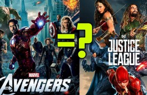 JUSTICE LEAGUE is The Same as THE AVENGERS