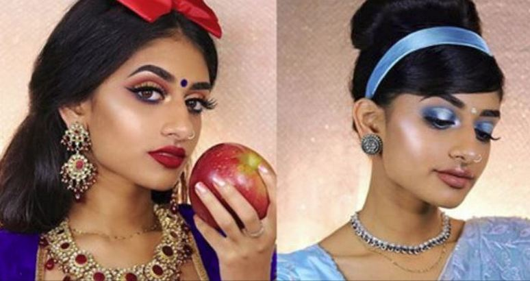 Disney Princesses Recreated With An Indian Twist