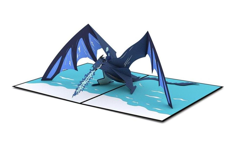 GAME OF THRONES Pop-Up Paper Art Cards