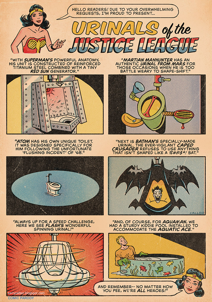 Justice LeagueUrinals