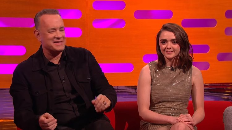 Tom Hanks Is Added To Arya Stark's Kill List In Hilarious Video