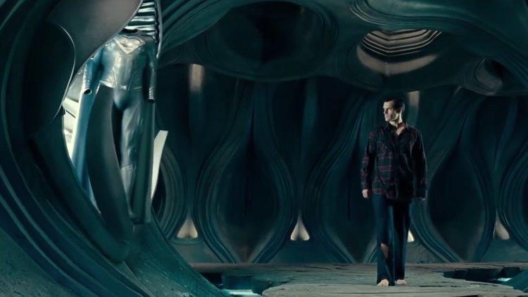 Superman's Black Suit