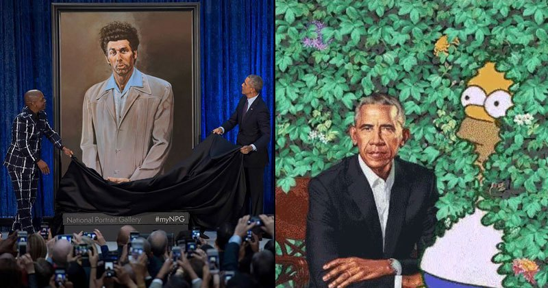 The Internet Is Having Fun With Obama's Official Portrait