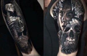 Realistic 3D Tattoos