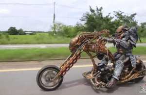 Xenomorph Motorcycle