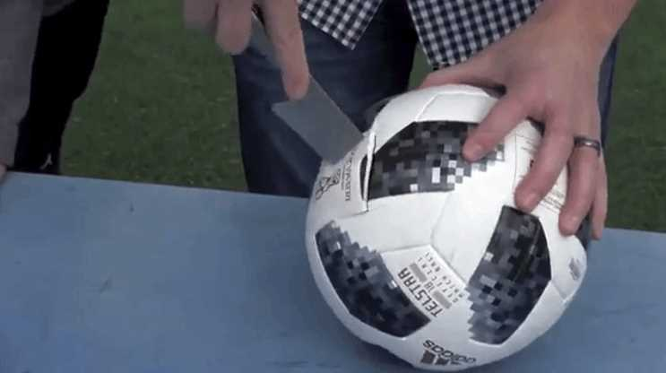 8baf3dc4a07 What's Inside FIFA World Cup 2018 Soccer Ball   FizX