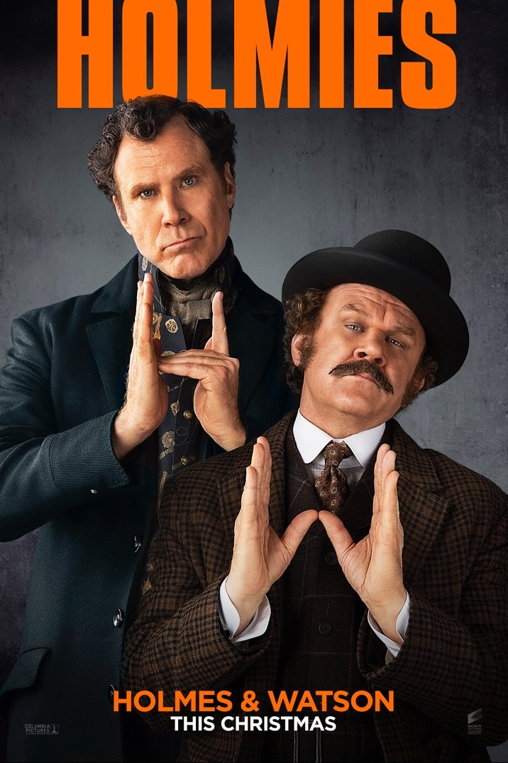Will Ferrell and John C. Reilly's HOLMES AND WATSON Silly Poster Released