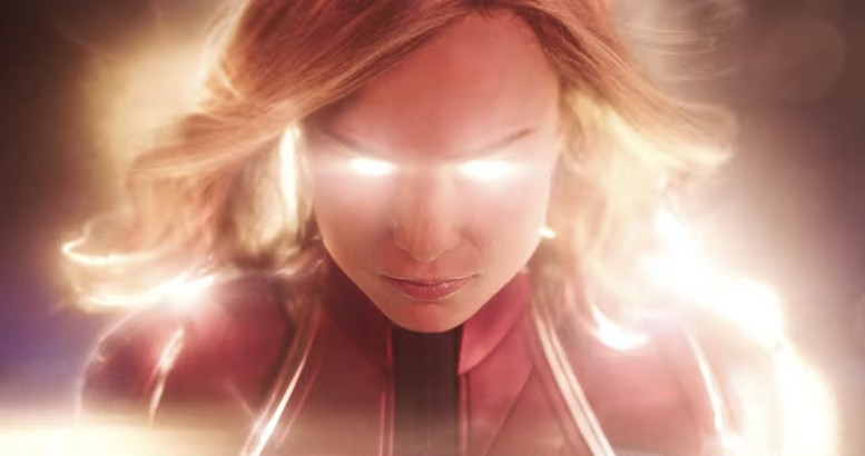 New CAPTAIN MARVEL Poster and New Trailer Screenshots!