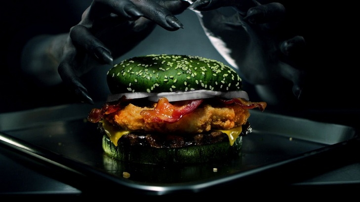 "Burger King's ""Nightmare King"" Whopper Coming Out For Halloween"