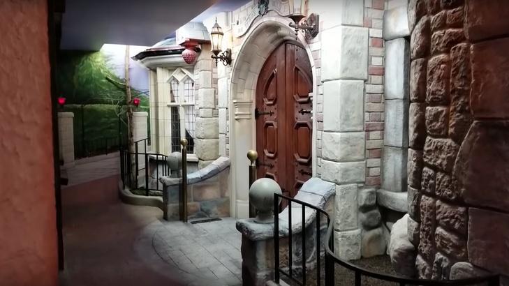 Fantasyland-Themed Basement