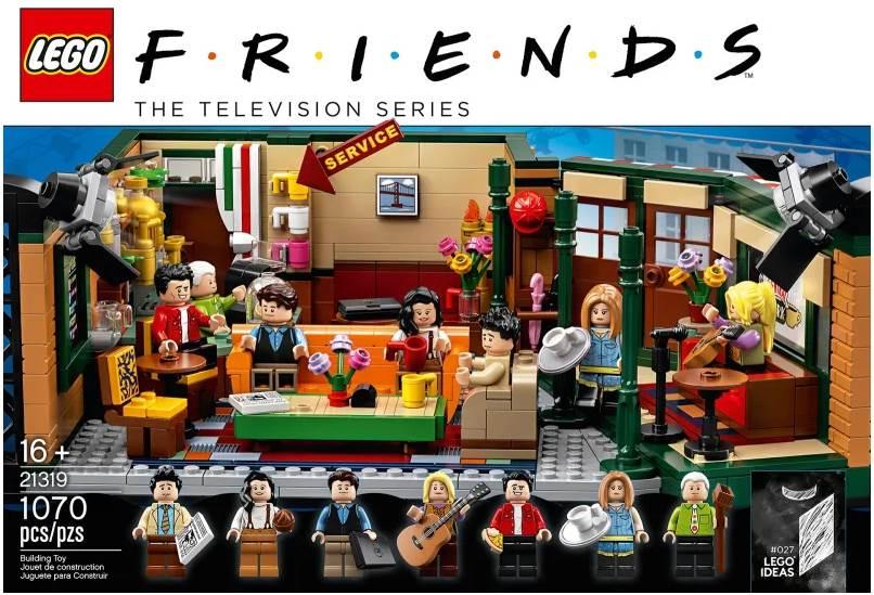 FRIENDS Central Perk LEGO Set