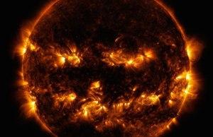 Cosmic Pumpkin Photo of theSun
