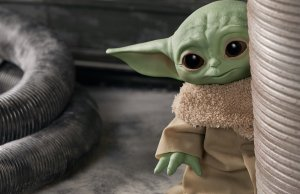 Baby Yoda Action Figures