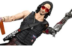 Cyberpunk 2077's Keanu Action Figure