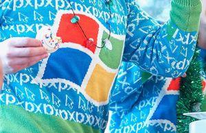 Ugly Windows XP Sweater