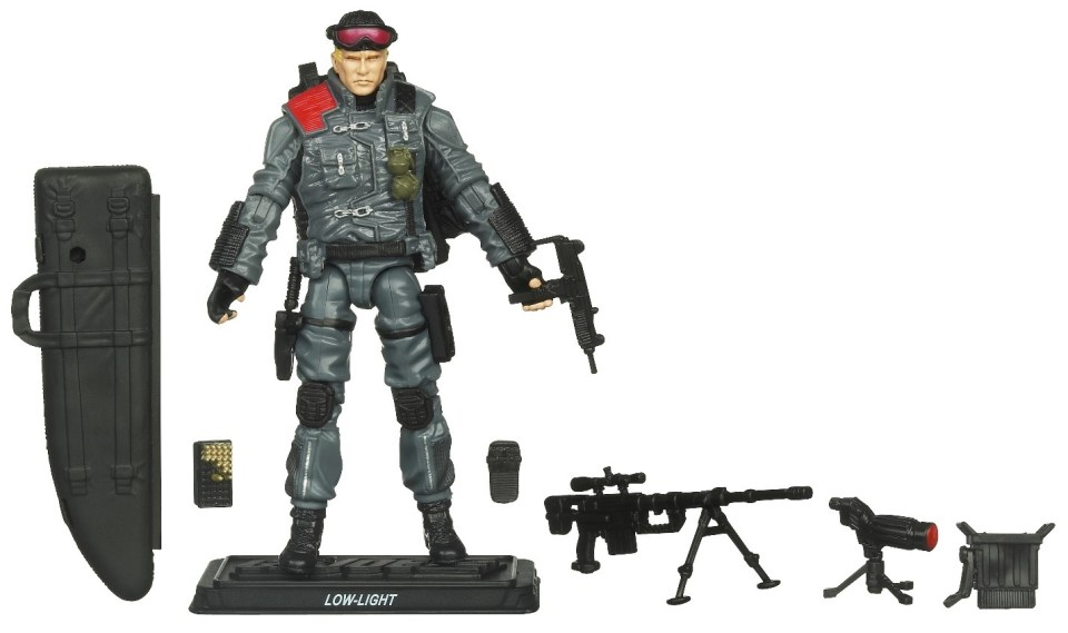 Low Light from The Hasbro G.I. Joe: Pursuit of Cobra Wave 4