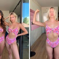 20 Pics: Woman Revealed Social Media Vs Reality And How Fake Her Insta Photos Are