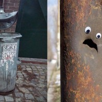 30 Googly Eyes On Broken Street Objects is The Most Hilarious Thing Ever!