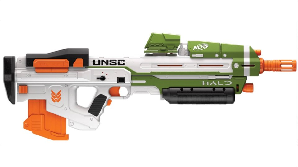Nerf Halo Weapons