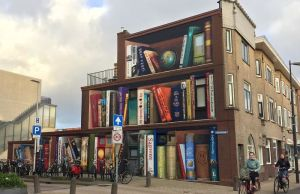 street-art-utrecht-apartment-building-transformed-into-bookcase