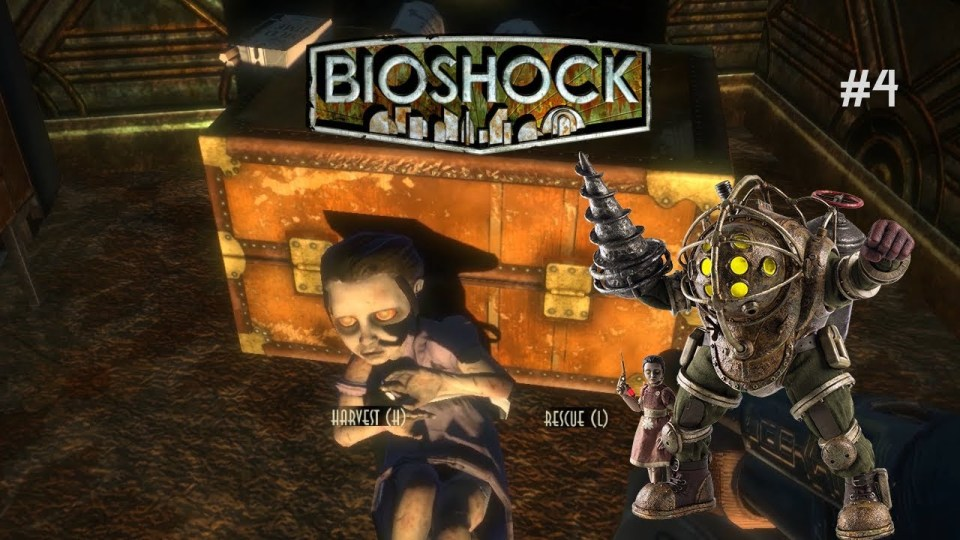 Harvesting or Sparing the Little Sisters in Bioshock
