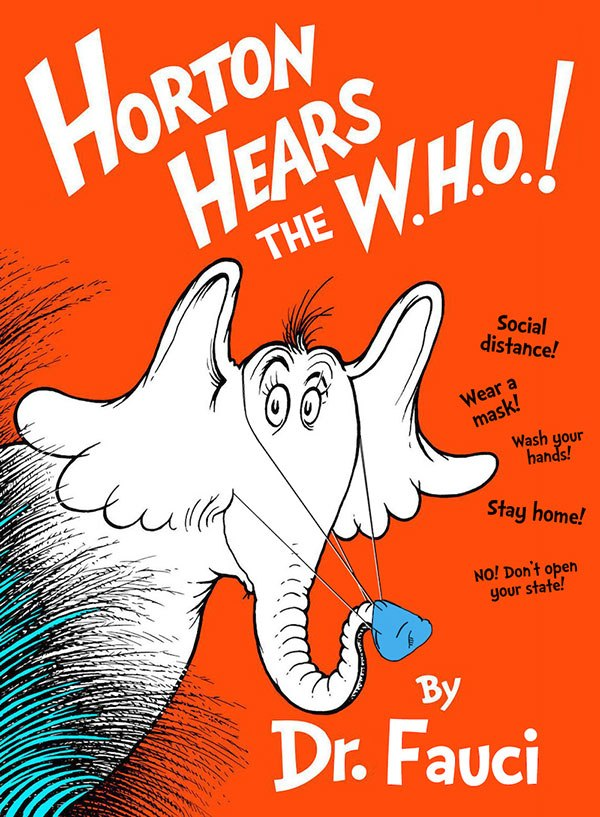 Classic Dr. Seuss Book Covers