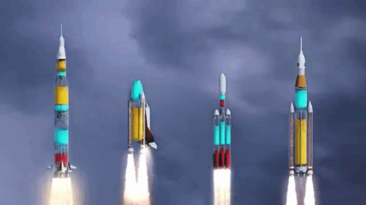 Space-rockets