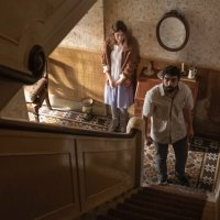 Horror Film AMULET Trailer, Set in a Haunted Old House