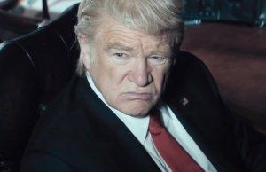 Brendan Gleeson as Donald Trump