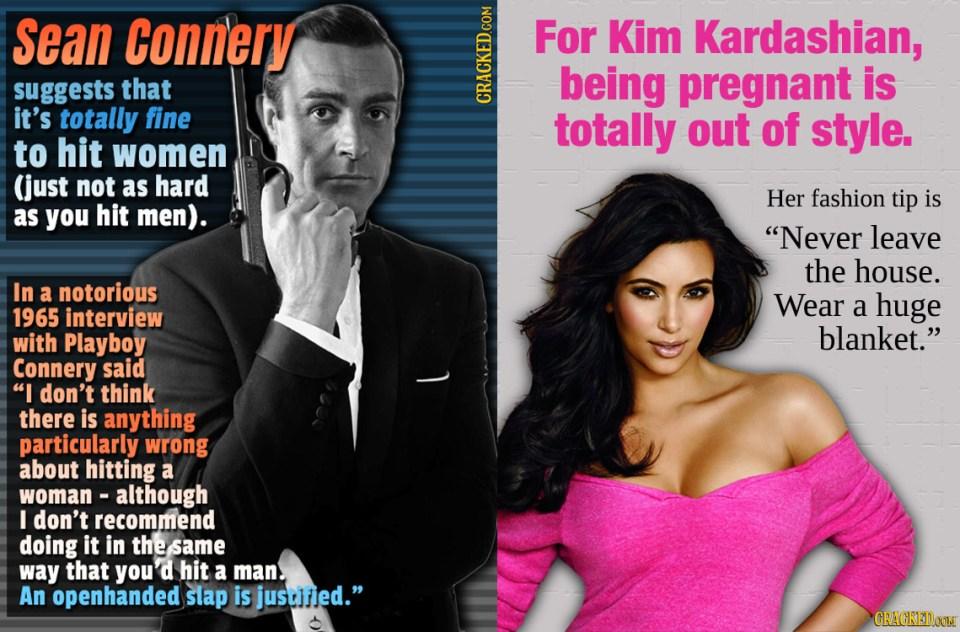 Worst Celebrity Life Advice