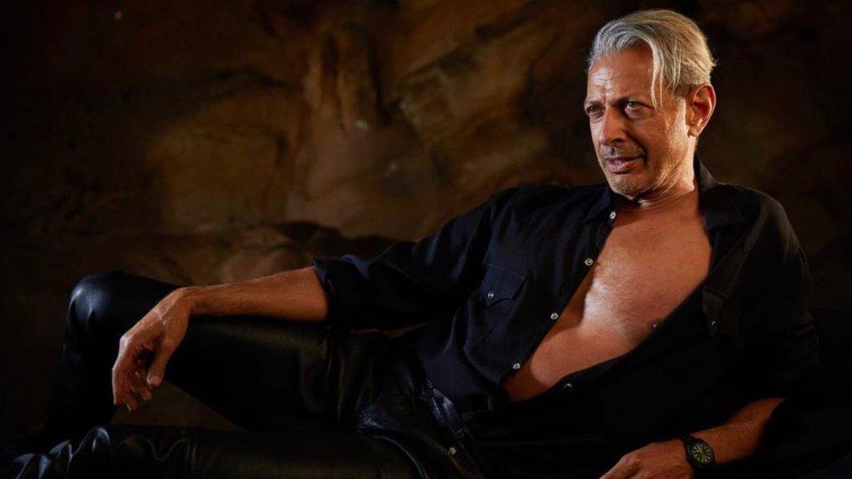 Jeff Goldblum Jurassic Park Pose
