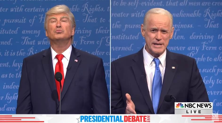 Saturday Night Live Biden Trump Debate