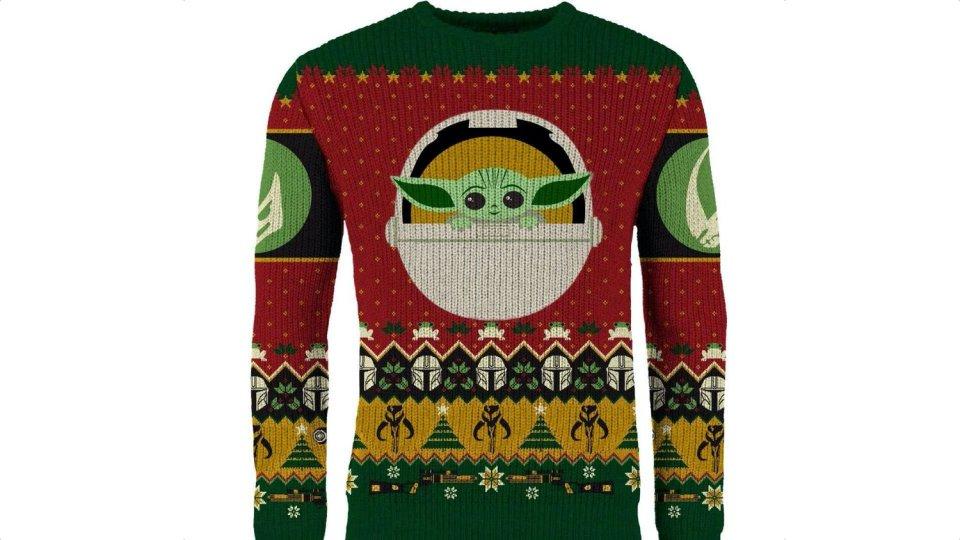 Ugly Baby Yoda Christmas Sweater