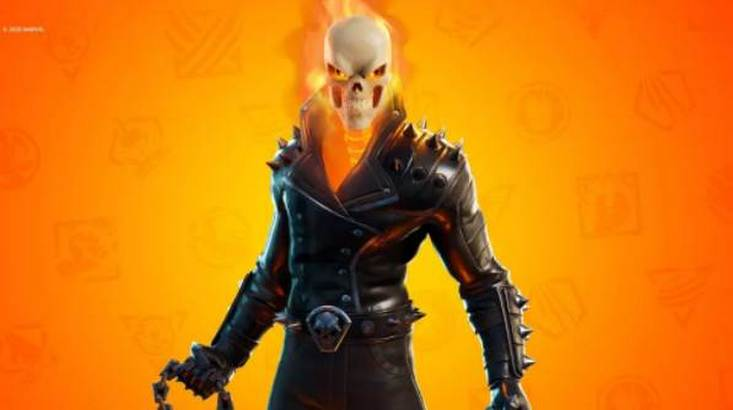 Ghost Rider Fortnite Skin