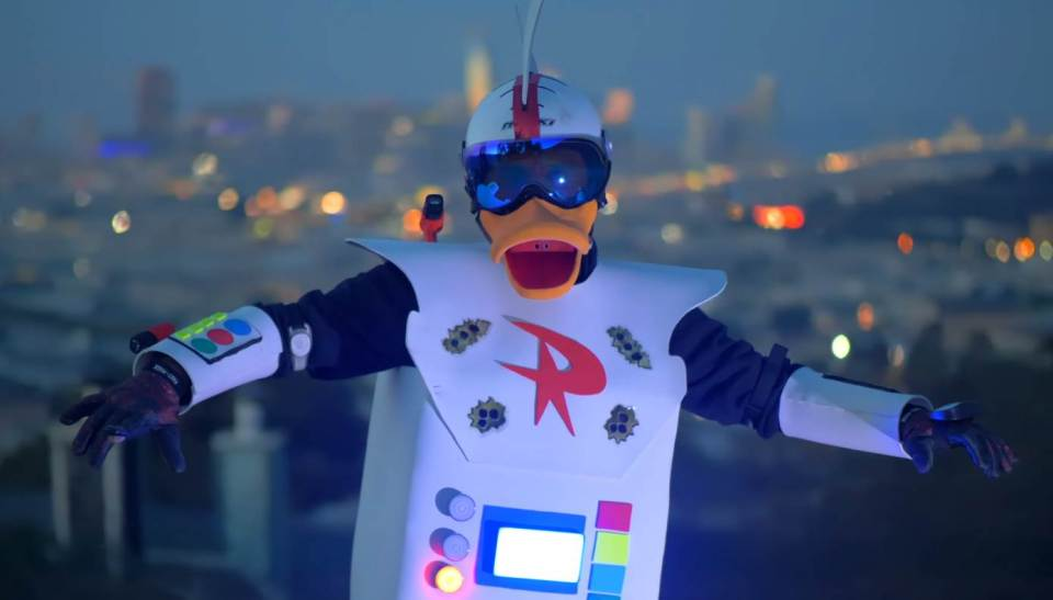 Gizmoduck Cosplayer