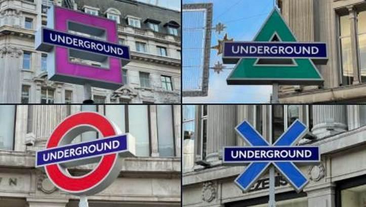 PlayStation London Underground Signs