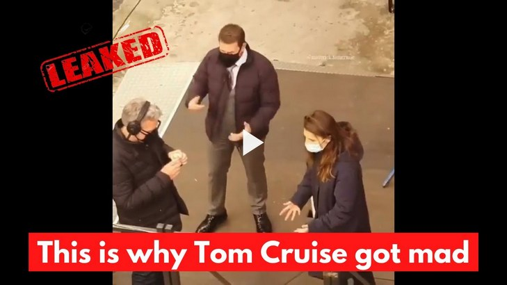 Tom Cruise Ripping His MISSION IMPOSSIBLE 7 Crew for Breaking COVID-19 Safety Protocols