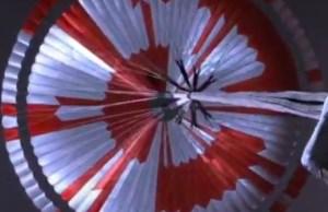 NASA's Mars Rover Parachute