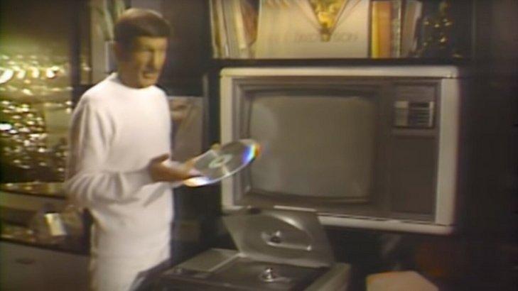 Leonard Nimoy Introduced The Magnavision LaserDisc