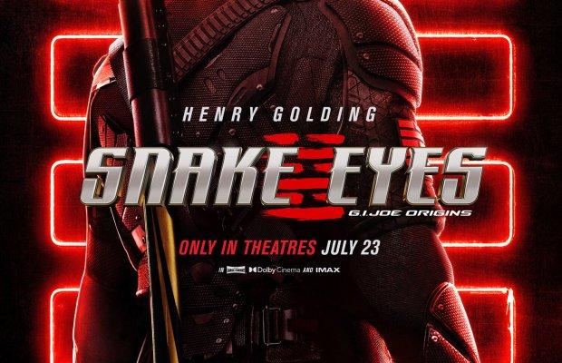 SNAKE EYES G.I. JOE ORIGINS Poster