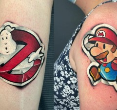 Tattoos That Look Like Stickers